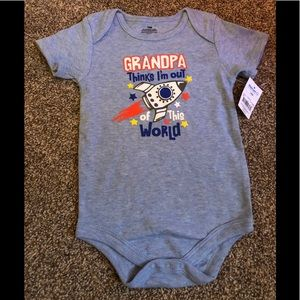 """Other - NWT 'Grandpa Thinks I'm out of this world"""" onesie"""